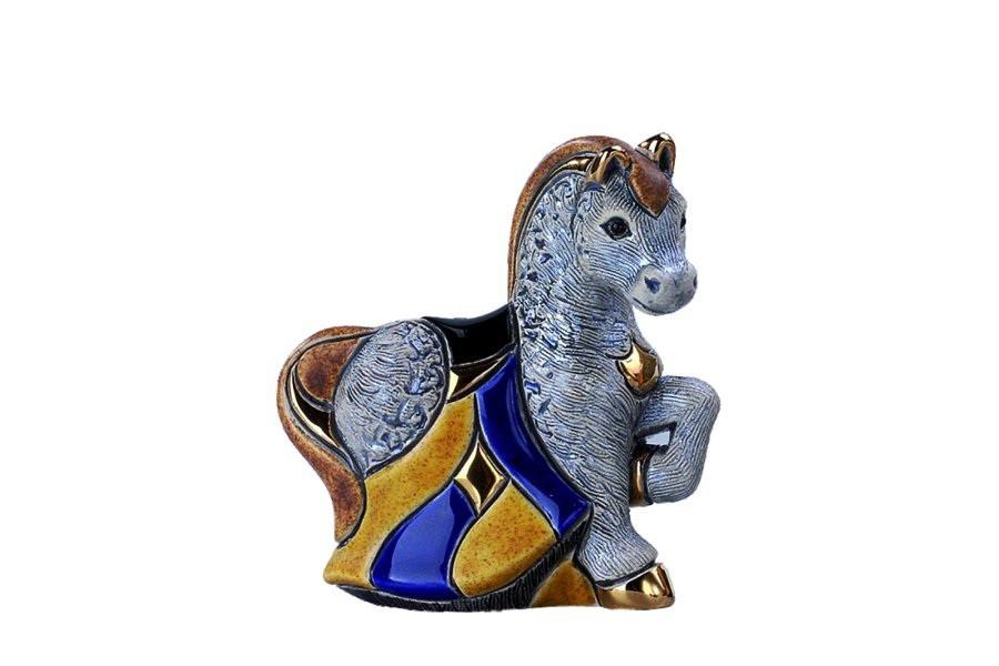 Статуэтка Серая лошадь De Rosa