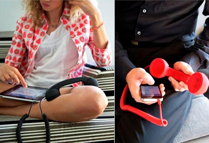 Гарнитура для телефонов и ПК Ретро-трубка
