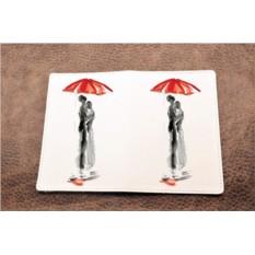 Обложка на паспорт «Акварельная любовь»