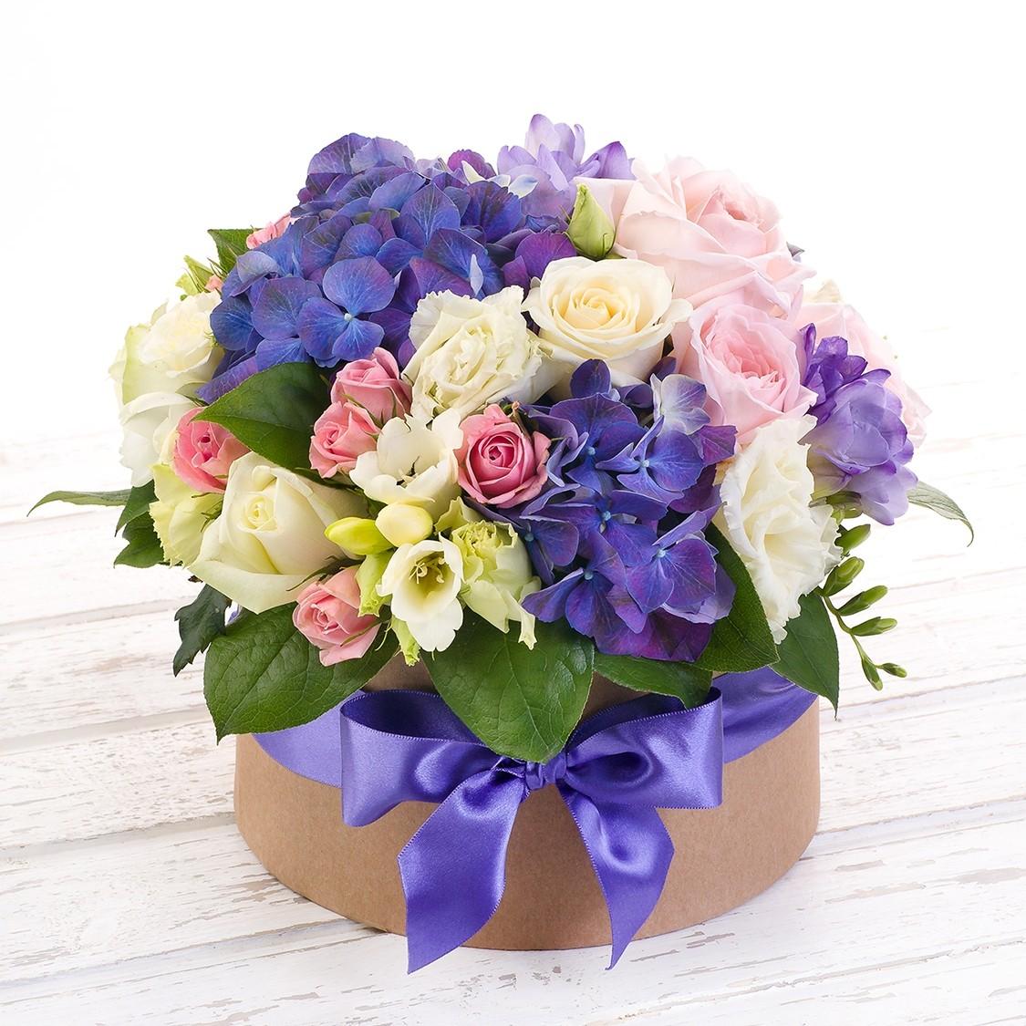 Букет цветов Звездное небо