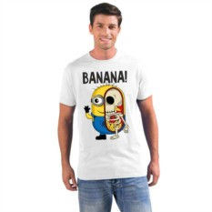 Мужская футболка Banana, миньон