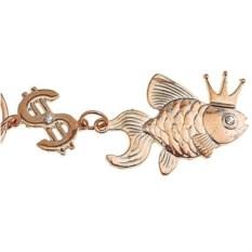 Брелок-талисман Рыбка золотая