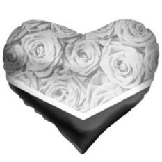 Подушка в форме сердца Розы