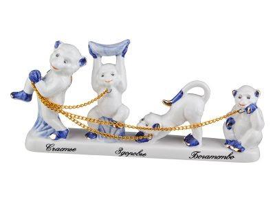 Фигурка 4 обезьяны
