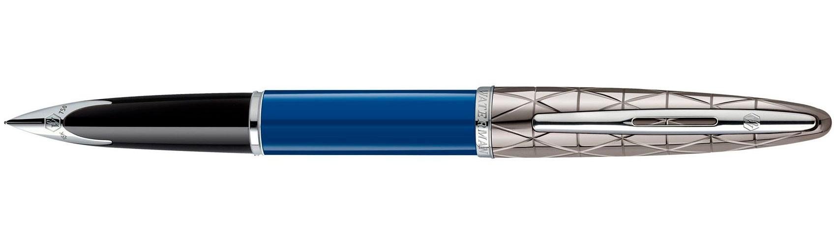 Перьевая ручка Waterman Carene Obsession Blue Lacquer
