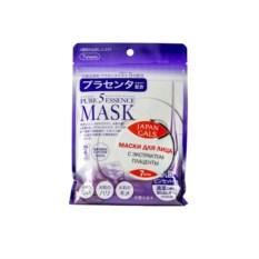 Маска с плацентой Pure 5 Essential от Japan Gals (7 шт.)