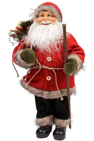 Сувенир Санта с посохом