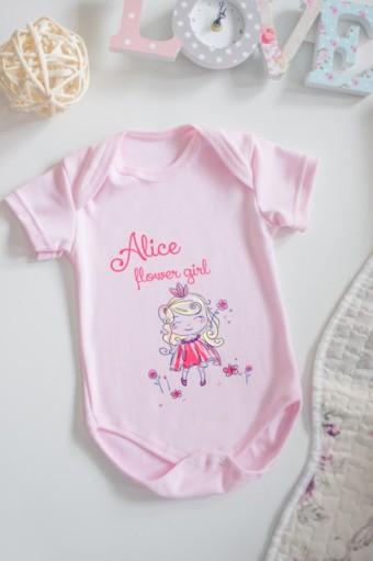 Боди для малыша с вашим текстом Принцесса