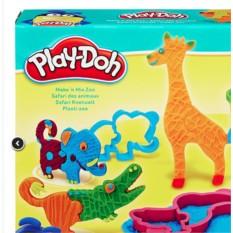 Игровой набор пластилина Play-Doh Веселое Сафари (Hasbro)
