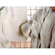 Махровый халат Lady Laura Stella
