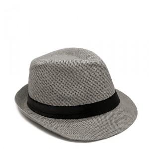 Шляпа Straw, серая