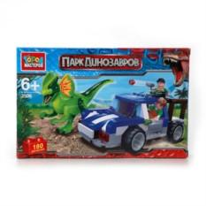 Пластмассовый конструктор Динозавры - Засада с фигурками