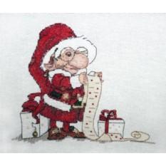 Набор для вышивания Список подарков