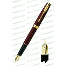 Перьевая ручка Parker Sonnet F539 Laque Deep Red GT
