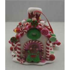 Рождественская игрушка Пряничный домик