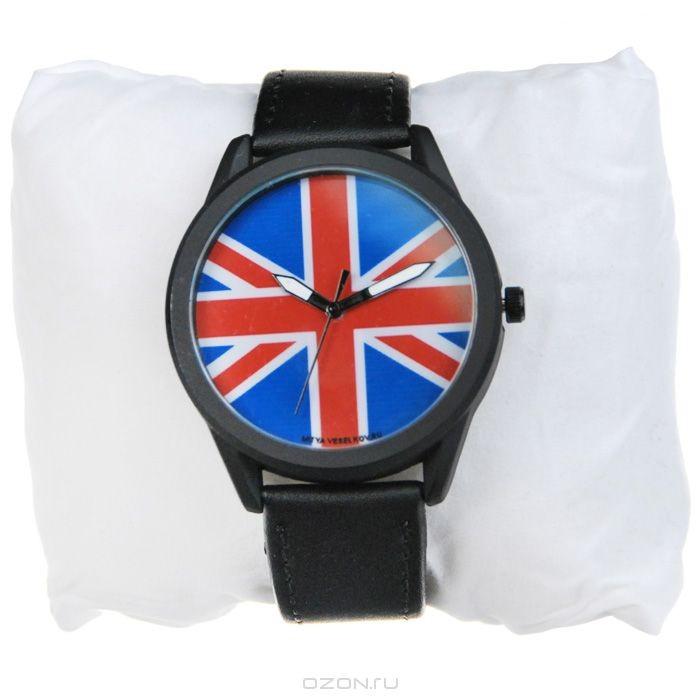 Часы наручные Mitya Veselkov Британский флаг