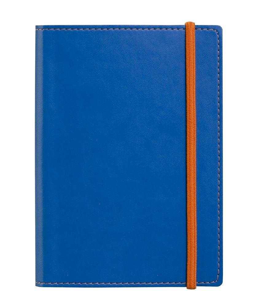 Блокнот Vivid Colors в мягкой обложке, голубой