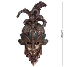 Венецианская маска Стрекоза (цвет — медный)