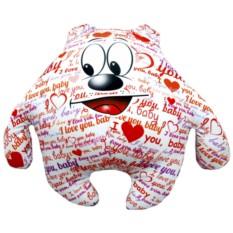 Подушка-игрушка Мишка I love you