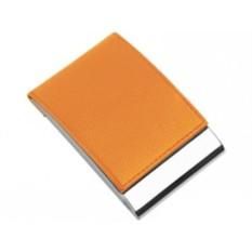 Оранжевая визитница