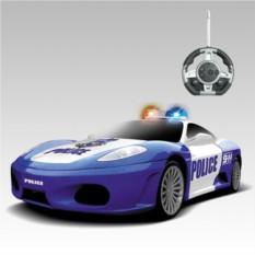 Радиоуправляемый конструктор-машинка Ferrari Police