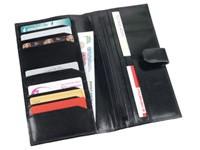 Дорожное портмоне черного цвета