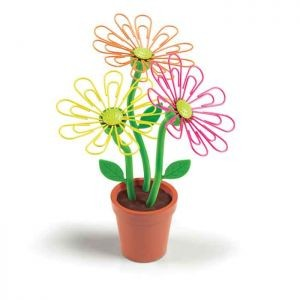 Подставка для скрепок «Скрепочный цветок»