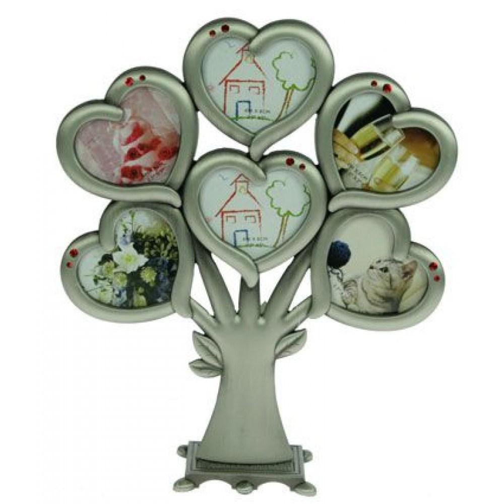 Дерево с фоторамками Любимая семья