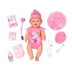 Кукла Инетрактивная девочка Baby Born