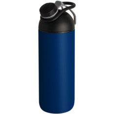 Синяя бутылка для воды fixFlask