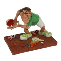 Декоративная фигурка Мастер пинг-понга
