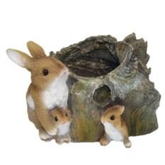 Кашпо Три зайца у пенька