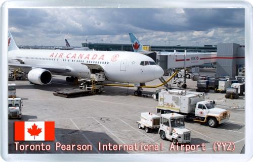 Аэропорт Пирсон (Торонто, Канада). Код YYZ.