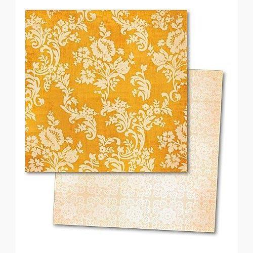 Бумага для скрапбукинга My Minds Eye Yellow Floral