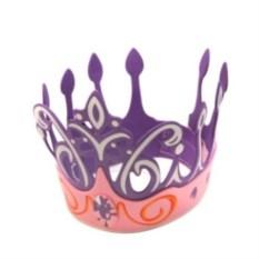 Фиолетовая карнавальная корона принцессы
