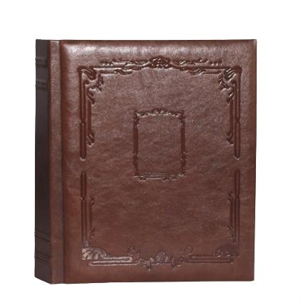 Кожаный фотоальбом с магнитными листами