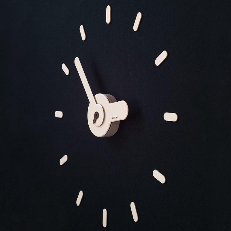 DIY Настенные часы ON-TIME, белые