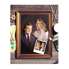 Парный портрет по фото Счастливая пара