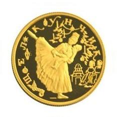 Монета - Щелкунчик, золото, 25 рублей