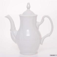 Белый фарфоровый кофейник Бернадот Thun