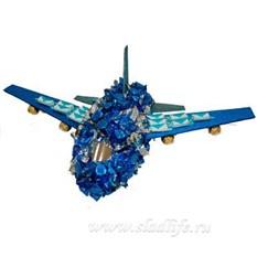 Букет из конфет Самолет