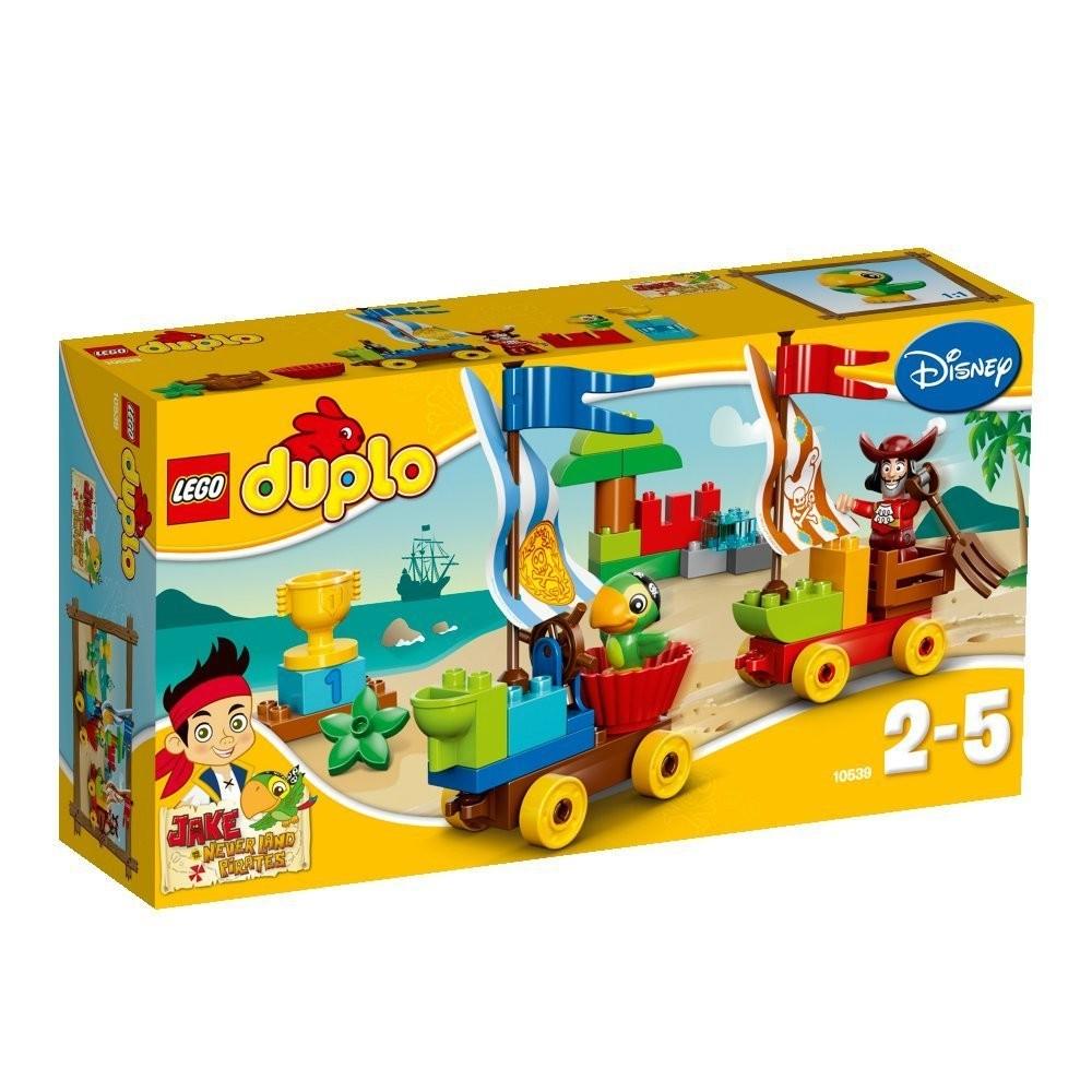 Конструктор LEGO DUPLO Джейк. Гонки на пляже