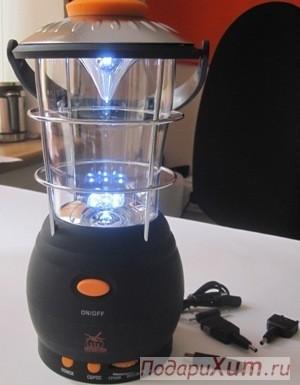 Кемпинговый динамо-фонарь с радио Автономное плавание