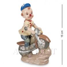 Фигурка Клоун на скутере (Pavone)