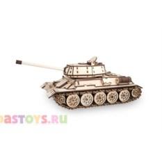 Деревянный конструктор Танк Т-34