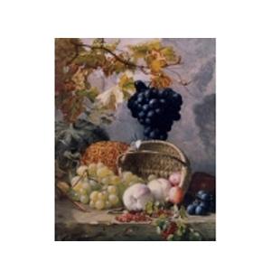 Картина «Виноград с корзиной»