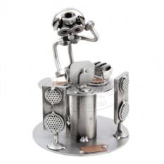 Металлическая статуэтка Ди-джей, HINZ&KUNST