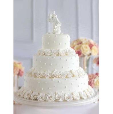 Свадебный торт «Белый романс»