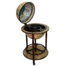 Напольный глобус-бар Сокровища древнего мира