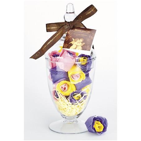 Мыло в форме бутонов роз «Цветочный перфоманс»